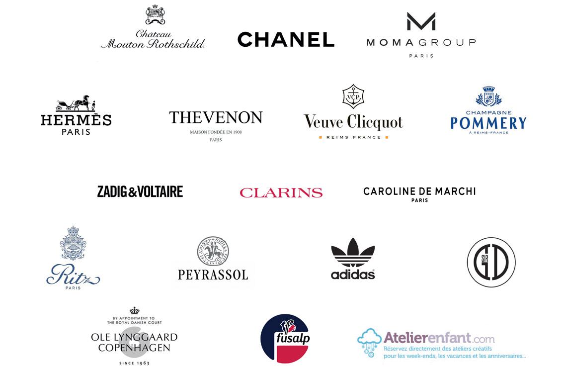 Logos partenaires du Gala
